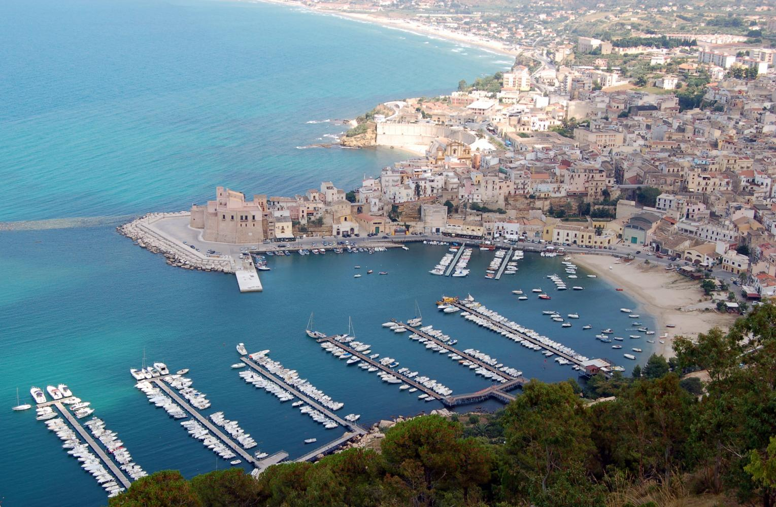View from above - Castellammare del Golfo